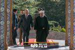 مقتطفات من المؤتمر الصحفي الذي جمع روحاني ونظيره العراقي  /فيديو