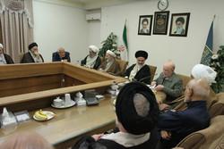 جلسه مشترک حزب موتلفه اسلامی و جامعه مدرسین حوزه علمیه قم