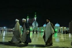 طلاب العلوم الدينية يجددون البيعة مع الإمام المهدي (عج)/صور