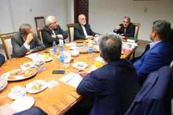 دیدار هیأت اجرایی کمیته ملی المپیک با شهردار تهران