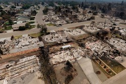 VIDEO: Aerial footage reveals aftermath of California's deadliest wildfire