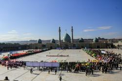 فلم/ مسجد مقدس جمکران میں مشترکہ پریڈ