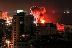 Israeli regime launches lengthy attack on Gaza Strip