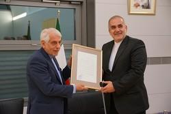 مراسم تودیع سفیر جمهوری اسلامی ایران در آلمان برگزار شد
