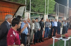 پیشکسوتان فوتبال صنعت آب و برق استان بوشهر تجلیل شدند