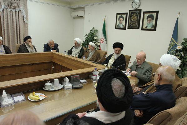 نشست شورای مرکزی حزب مؤتلفه اسلامی با شورای عالی جامعه مدرسین