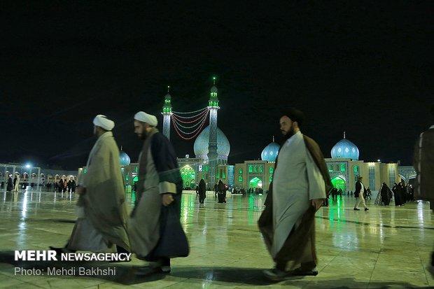 طلاب العلوم الدينية يجددون البيعة مع الإمام المهدي (عج)