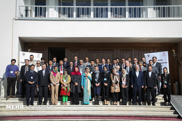 Conference on Intl. Humanitarian Law in Tehran
