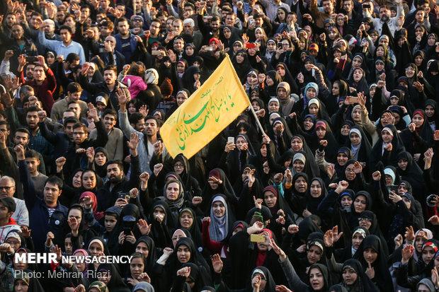 جشن بزرگ بیعت با بقیة الله الاعظم(عج) در تهران