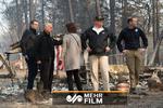 بازدید ترامپ از مناطق درگیر آتش سوزی پس از ۹ روز!