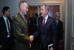 Milli Savunma Bakanı Akar, ABD Genelkurmay Başkanı ile görüştü