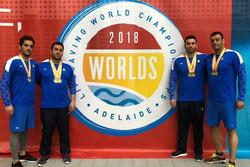 تیم امدادی نجات غریق ایران نایب قهرمان جهان شد/ رئیس دو مدال گرفت
