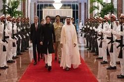 عمران خان با ولیعهد امارات دیدار و گفتگو کرد