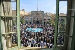 تجمع بزرگ حوزویان امروز در مدرسه فیضیه برگزار میشود