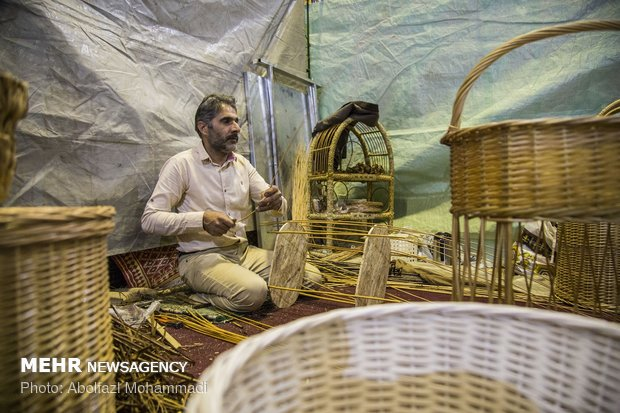Handicraft exhibition in Yazd