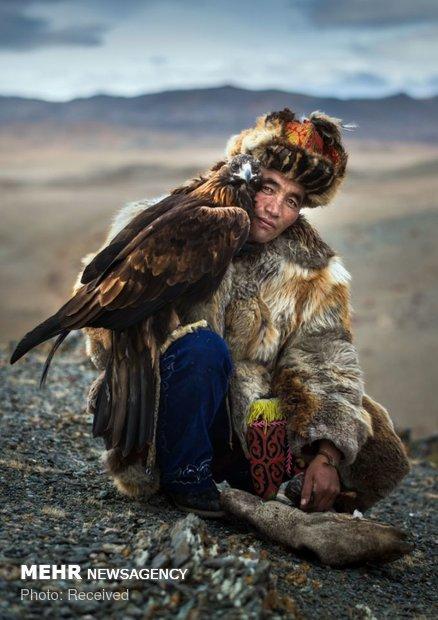 سوارکاران عقاب به دست مغولستان