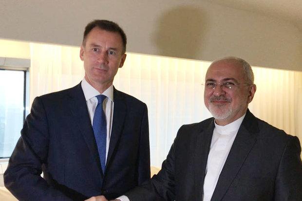 UK chief diplomatJeremy Hunt to visit Iran Monday