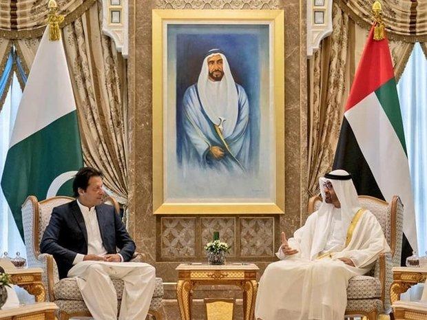 عمران خان کی متحدہ امارات کے ولیعہد سے ملاقات