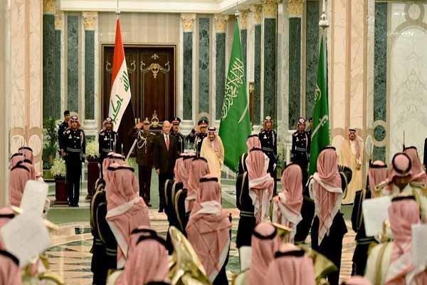 عراق کے صدر برہم صالح ریاض پہنچ گئے
