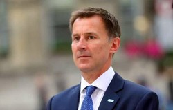 UK foreign secretary Jeremy Hunt lands in Tehran