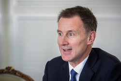 Hunt says UK will release Iranian oil tanker if it doesn't go to Syria