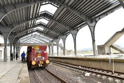 سوت قطار قزوین - رشت به صورت آزمایشی شنیده می شود