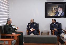 Nasirzadeh, Gheibparvar seek to boost IRIAF-Basij ties