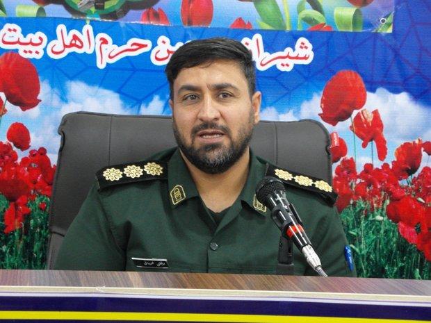 برگزاری مراسم استقبال و تشییع ۱۰ شهید در شیراز