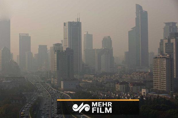 هوای شهرها آلوده میشود