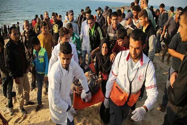 İsrail güçleri Gazze sahilinde 25 Filistinliyi yaraladı
