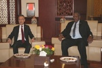 معاون رئیس جمهوری ترکیه با همتای سودانی خود دیدار کرد