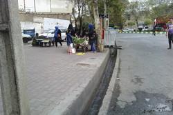 بن بست شهرداری گرگان برای جمع آوری دستفروشان/برخوردمنطقی لازم است