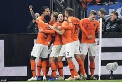 دیدار تیمهای ملی فوتبال آلمان وهلند