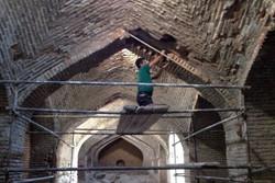 پایان فاز دوم پروژه مرمت و ساماندهی کاروانسرای تاریخی هجیب