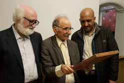 دیدار رئیس بنیاد ادبیات داستانی با محمود سجادی
