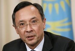 Kazakh foreign minister Kairat Abdrakhmanov