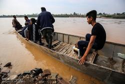 عنافچہ کے شہریوں کا صرف کشتیوں سے دوسرے علاقوں کے ساتھ رابطہ