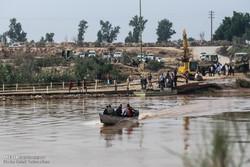 ساخت پل دهستان عنافچه در شهرستان باوی آغاز شد