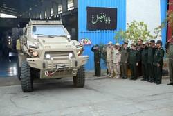 رونمایی و افتتاح خط تولید خودرو زرهی طوفان