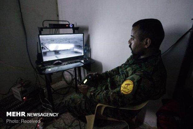 نیروهای حشد شعبی در جستجوی داعش
