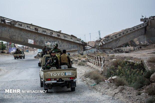 الحشد الشعبي يقصف تجمعات لداعش داخل سوريا