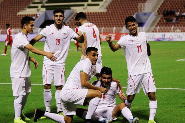 پیروزی تیم فوتبال امید ایران بر عمان/ کرانچار نیمه مربیان را برد