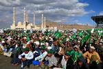 یمن میں لاکھوں مسلمانوں کی عید میلاد النبی (ص) کے جشن میں شرکت