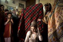A traditional Turkmen wedding ceremony in Golestan