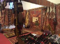 نمایشگاه صنایع دستی در خانه سوری برپا شد