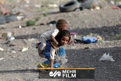 فلم/ یمنی بچے کی عالمی استکبار کے خلاف رجز خوانی