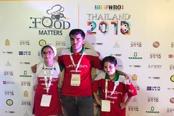Iranian team, Rahart, came in 4th at WRO2018 Open Category Elementary