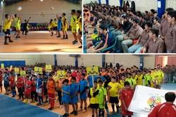 المپیاد ورزشی دانشآموزی درون مدرسهای در گناوه برگزار شد
