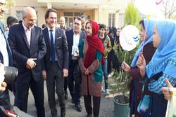 هفته فرهنگی با حضور نماینده ویژه یونیسف در نسیم شهر برگزار شد