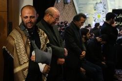 مراسم یادبود جهادگر آسمانی امیرمحمد اژدری
